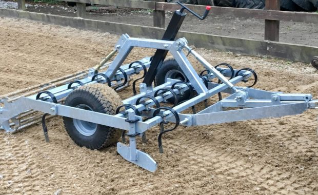 Grader Leveller for Equine Arena Maintenance